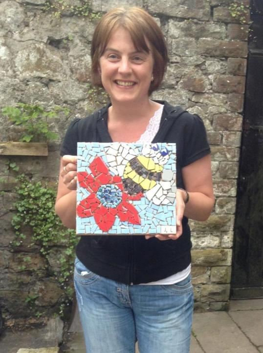 Introduction to Mosaic, a beginners one day workshop with Tracey Cartledge in Manchester