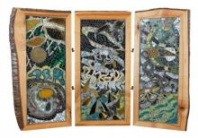 3 Panel Screen Mosaic - Birdman Series