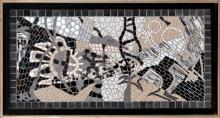 Framed Mosaic part of Birdman series