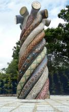 Entwined Histories Mosaic Sculpture