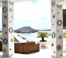 Mosaic Art for Ibiza Villa