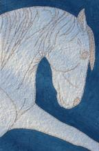 White Horse Mosaic Art