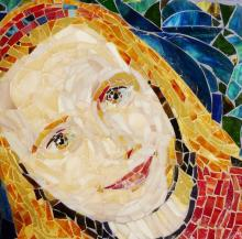 child portrait mosaic