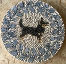 Lancashire Heeler Dog Pebble Mosaic