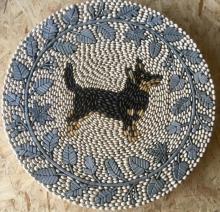 Lancashire Heeler Dog Pebble Mosaic