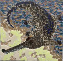 Gharial - fish eating crocodile