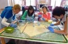 Trafford Macmillan  Care Centred Mosaic Commission