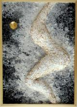 Venus mosaic with marble and smalti