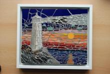 Lighthouse mosaic