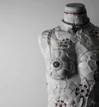 Mosaic mannequin by TomatoJack Arts