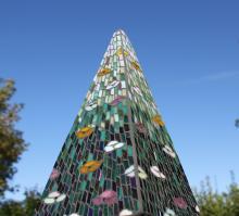 Summer Pyramid by TomatoJack Arts